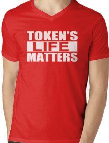 Tokens Life Matters Mens V-Neck T-Shirt