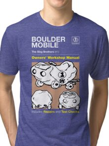 Owners' Manual - Boulder Mobile - T-shirt Tri-blend T-Shirt