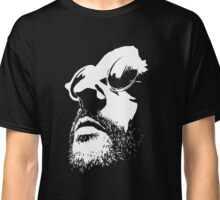 Lèon Movie Black and White Vectorized <3 Classic T-Shirt
