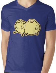 Go'Wey Birdblob Mens V-Neck T-Shirt
