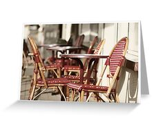 French terras Greeting Card