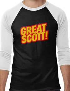 Back to the Future 'Great Scott!' quote Men's Baseball ¾ T-Shirt