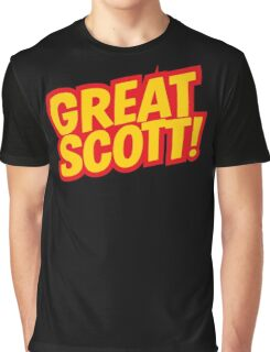 Back to the Future 'Great Scott!' quote Graphic T-Shirt