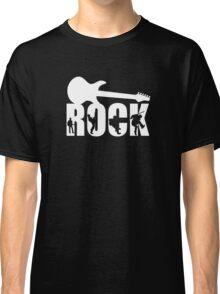 Rock Music Guitar  Classic T-Shirt