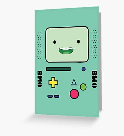 BMO (Adventure Time) Greeting Card