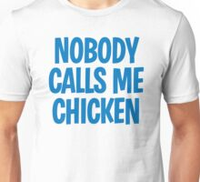 Back to the Future 'Chicken' quote Unisex T-Shirt
