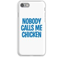 Back to the Future 'Chicken' quote iPhone Case/Skin