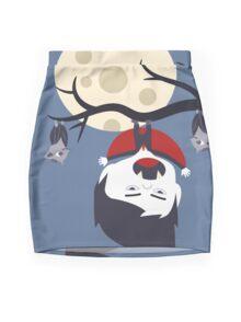 Der kleine Vampir Mini Skirt