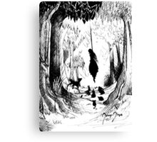 Some fairytales gone bad Canvas Print