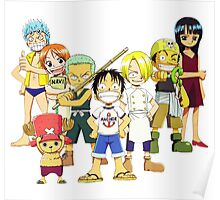 one piece kids Poster