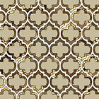 Gold Lattice Effect Decorative Design by Ra12