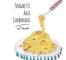 Spaghetti Alla Carbonara by haidishabrina