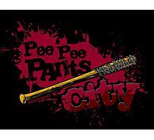 Pee Pee Pants City Photographic Print