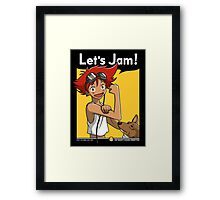 Jamming with Edward Framed Print