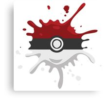 Pokeball Pokemon! Canvas Print