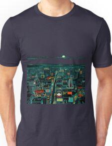 8 Bit City Unisex T-Shirt