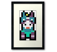 Pixel Horstachio Framed Print