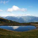 Le lac de l'Arpettaz by heinrich