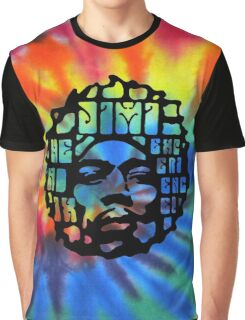 Hendrix Psychedelic  Graphic T-Shirt