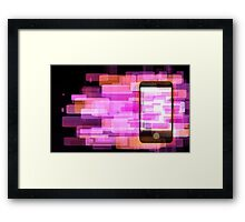 Phone Framed Print