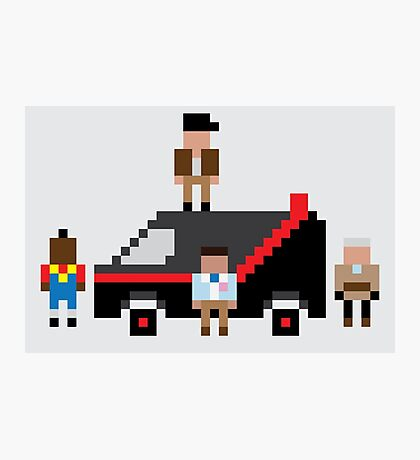 A Pixel Team Photographic Print