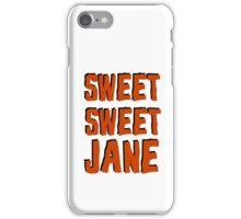 lou reed velvet underground sweet jane song lyrics rock n roll music cool t shirts iPhone Case/Skin