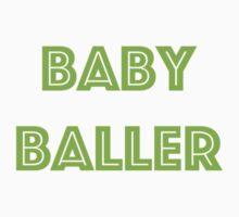 Baby Baller Basketball Collection One Piece - Short Sleeve
