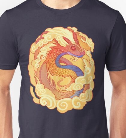 Orange Serpent Unisex T-Shirt