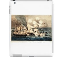 Great naval victory in Mobile Bay, Aug. 5th 1864 - 1864 iPad Case/Skin