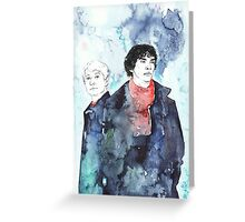 Sherlock - Cloudy Day Greeting Card