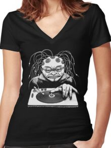 Technophile Women's Fitted V-Neck T-Shirt
