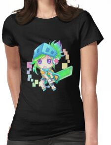 Arcade Chibi Riven Womens Fitted T-Shirt