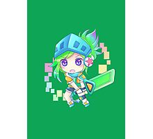 Arcade Chibi Riven Photographic Print