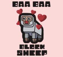 Baa Baa Block Sheep One Piece - Long Sleeve
