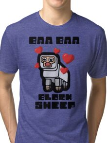 Baa Baa Block Sheep Tri-blend T-Shirt