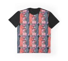 Pink Eye Acrylic Painting  Graphic T-Shirt