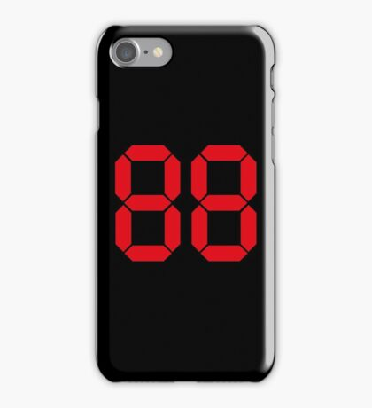 Back to the Future '88' logo design iPhone Case/Skin