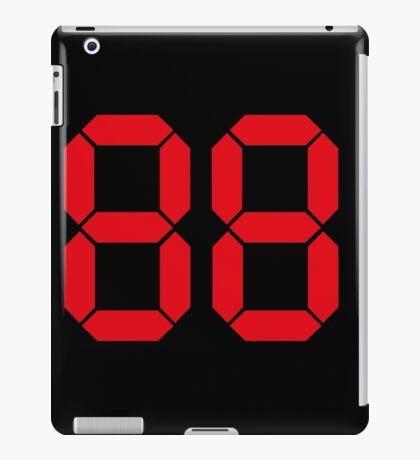 Back to the Future '88' logo design iPad Case/Skin