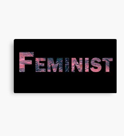 Feminist! Canvas Print