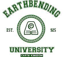 Earthbending University Earth Kingdom - Green Photographic Print