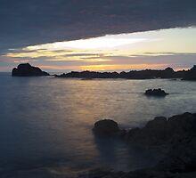 Sunset over Japan by Mark Elshout