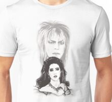 Sarah and Jareth ~ The Goblin King Unisex T-Shirt