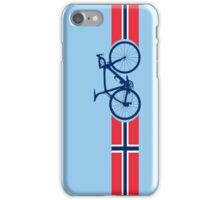 Bike Stripes Norway iPhone Case/Skin