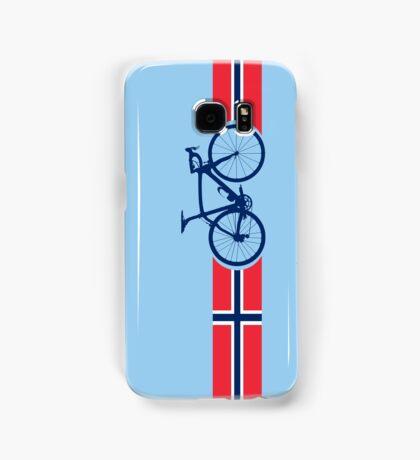 Bike Stripes Norway Samsung Galaxy Case/Skin