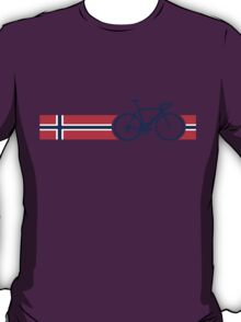 Bike Stripes Norway T-Shirt