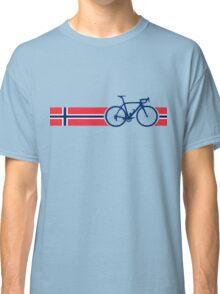 Bike Stripes Norway Classic T-Shirt