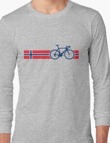 Bike Stripes Norway Long Sleeve T-Shirt