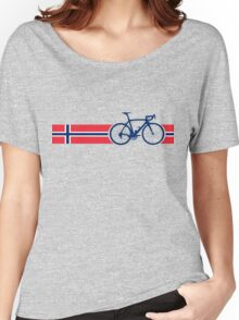 Bike Stripes Norway Women's Relaxed Fit T-Shirt