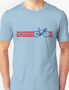 Bike Stripes Norway Unisex T-Shirt
