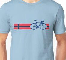 Bike Stripes Norway Unisex T-Shirt